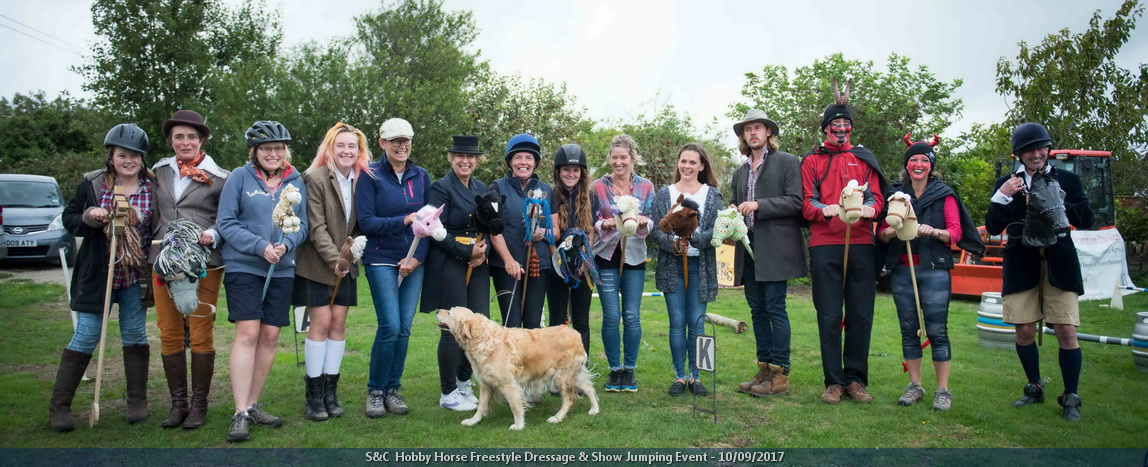 Hobby Horse Freestyle Dressage & Show Jumping
