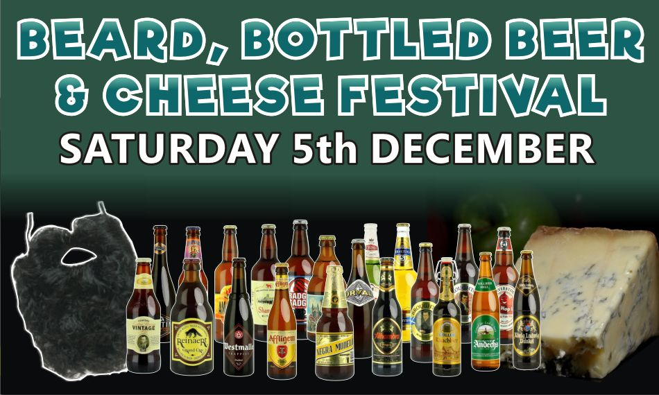 Slide 8 - Beard, Bottled Beer & Cheese Festival