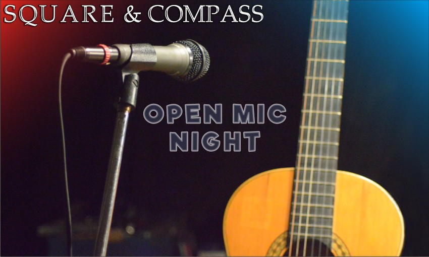 Slide 4  - Next Open Mic